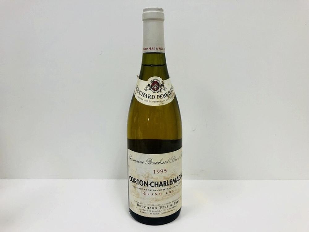 ブシャール ペール エ フィス グランクリュ コルトン シャルルマーニュ 1995年 果実酒 白ワイン お酒買取 | 長野県安曇野市