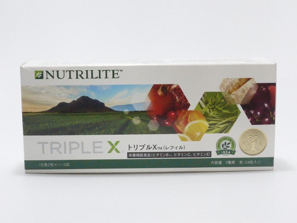 Amway サプリメント トリプルX レフィル アセロラ 牡蠣 長野県長野市 サプリ買取