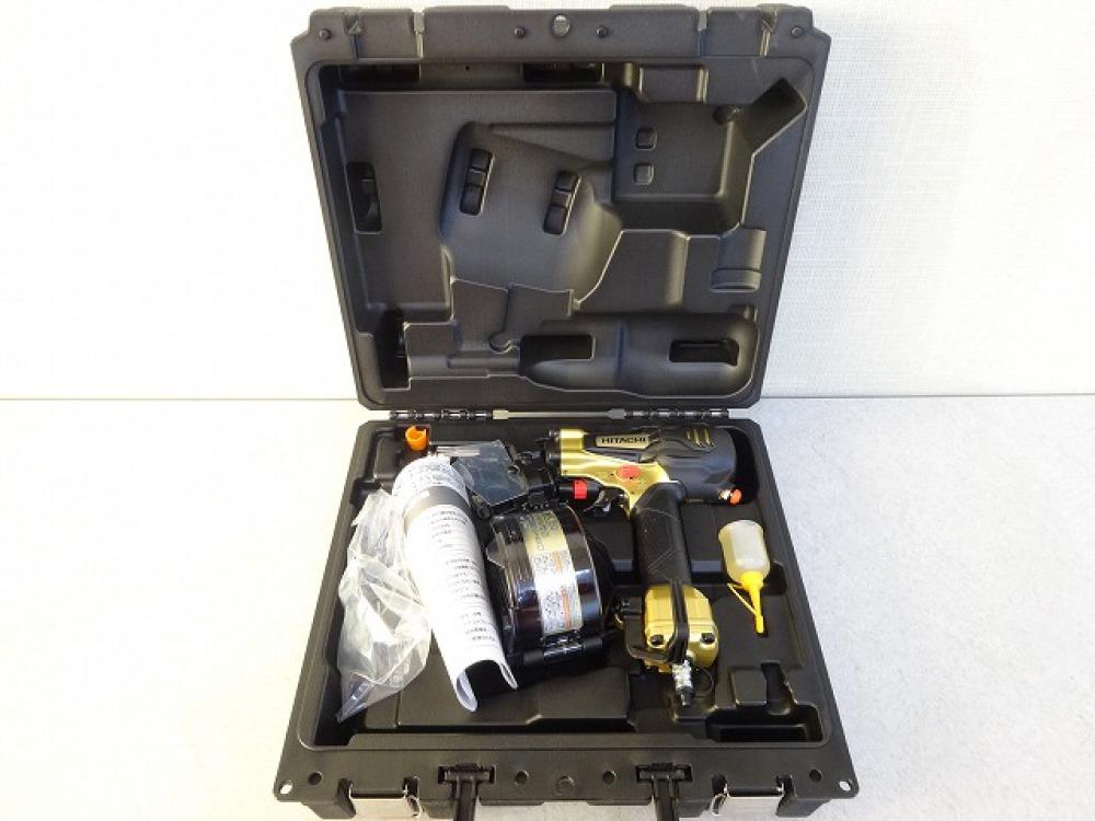HITACHI ロールくぎ打ち機 NV50HR(N) メタリックゴールド 高圧専用 長野県松本市 工具買取