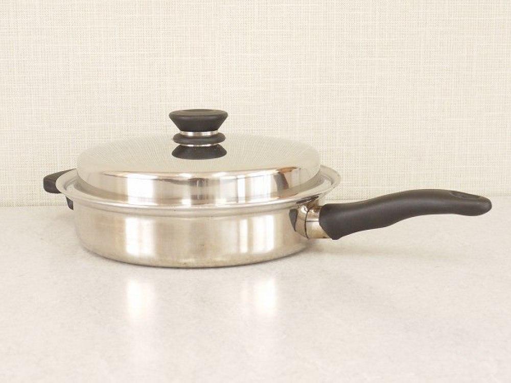 アムウェイクイーン フライパン ふたつき 調理器具 長野県松本市 ブランド食器買取