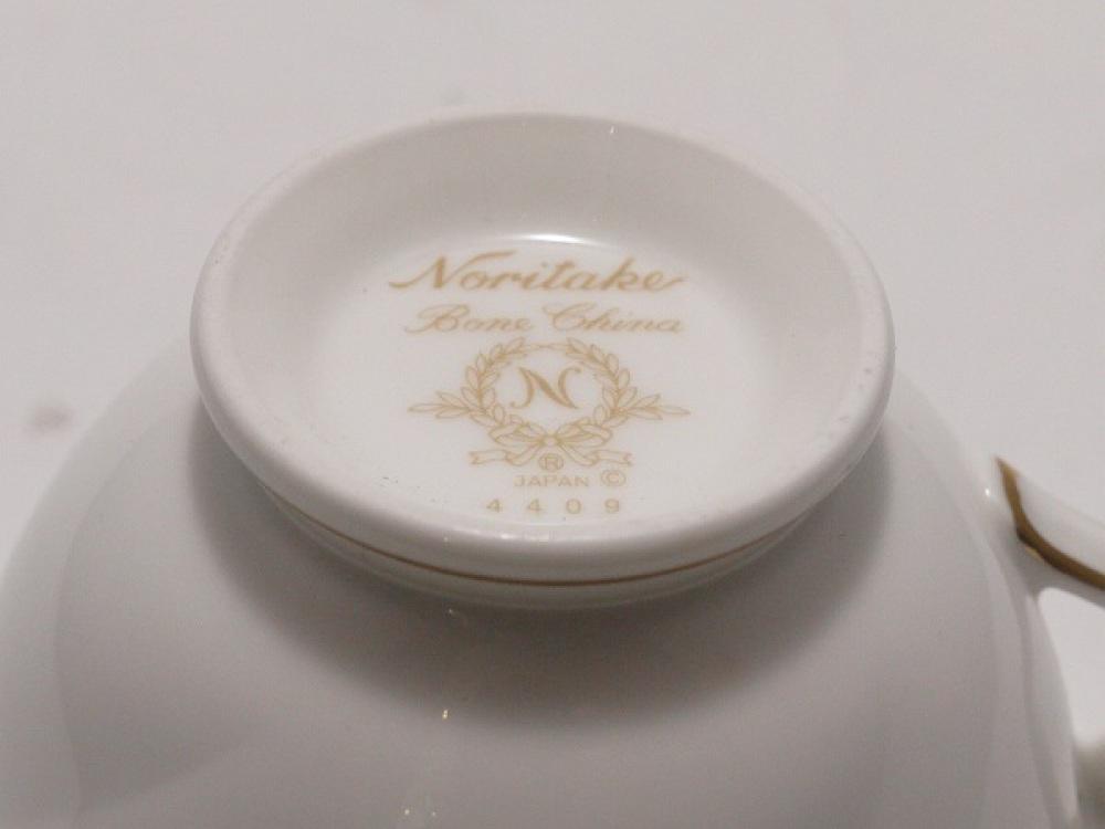 Noritake カップ&ソーサー 5客セット 花更紗 長野県 安曇野市 ブランド食器買取 写真4