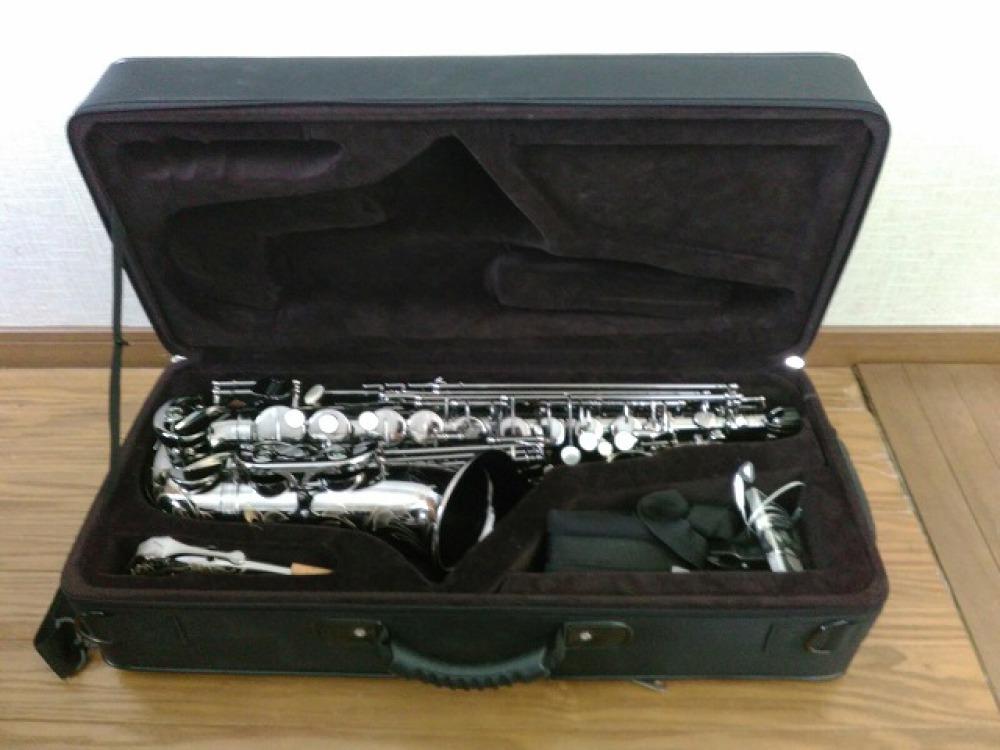島村楽器 Festi アルトサックス A1800BB シルバー 手掘り彫刻 長野県松本市 楽器買取