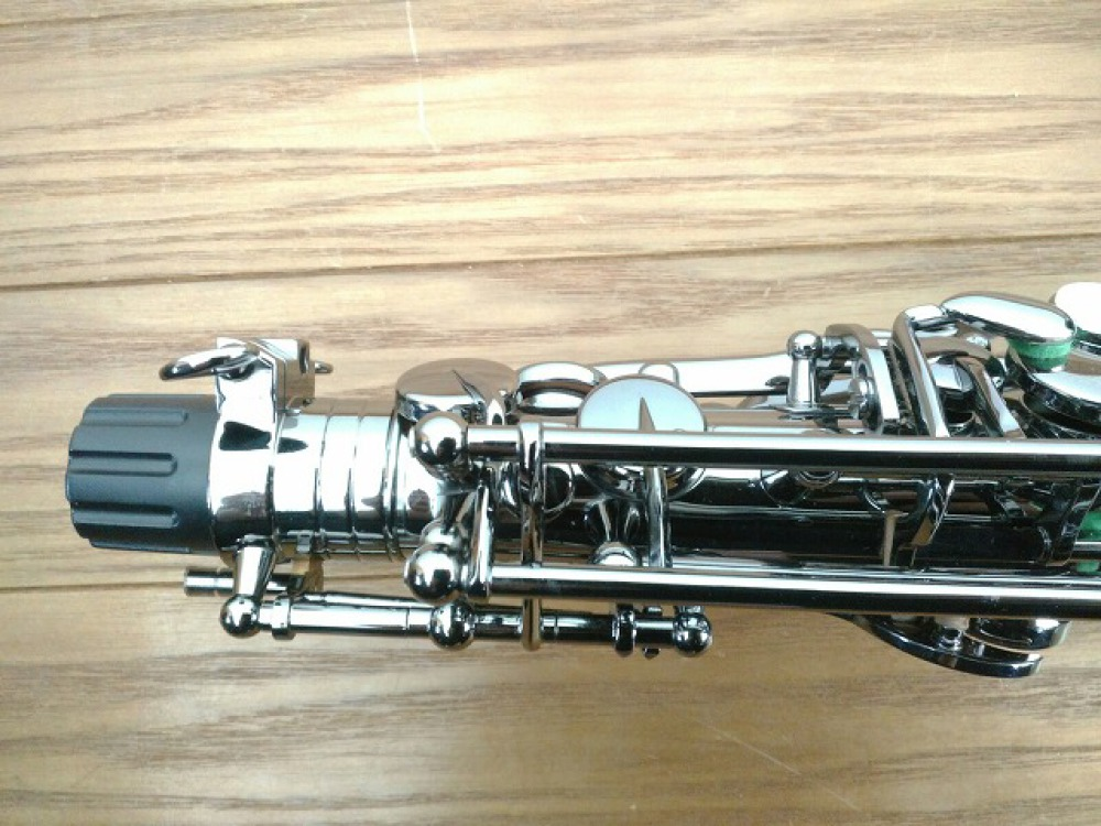 島村楽器 Festi アルトサックス A1800BB シルバー 手掘り彫刻 長野県松本市 楽器買取 写真4