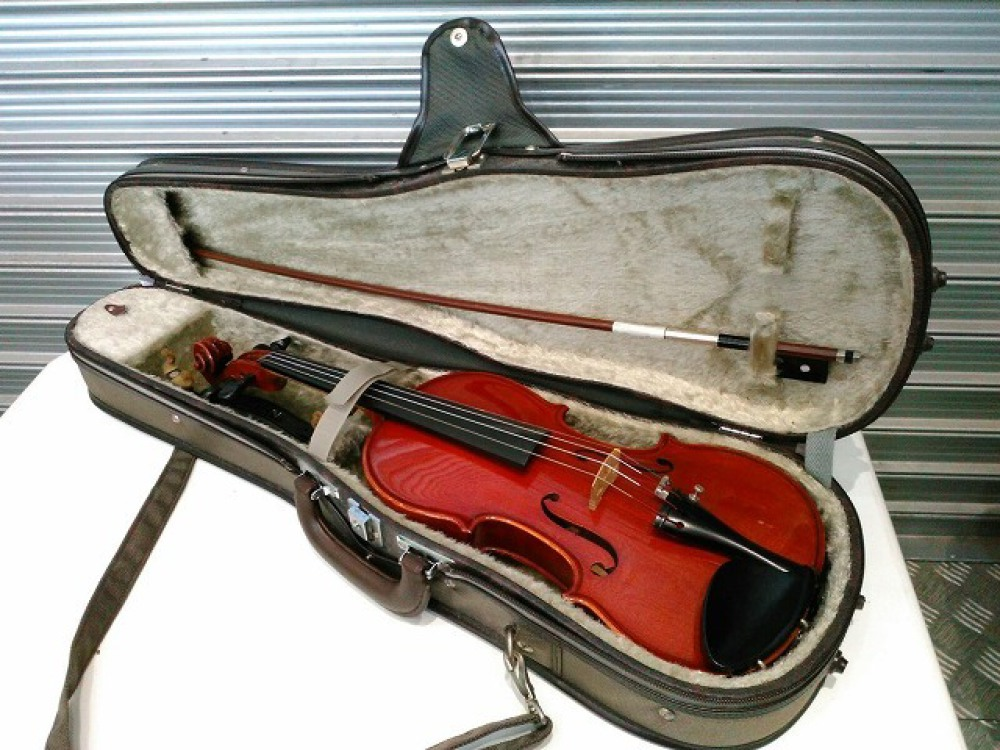 SUZUKI NO.330 バイオリン 1995 1/2サイズ 長野県長野市 楽器買取 写真2