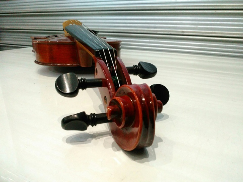SUZUKI NO.330 バイオリン 1995 1/2サイズ 長野県長野市 楽器買取 写真5