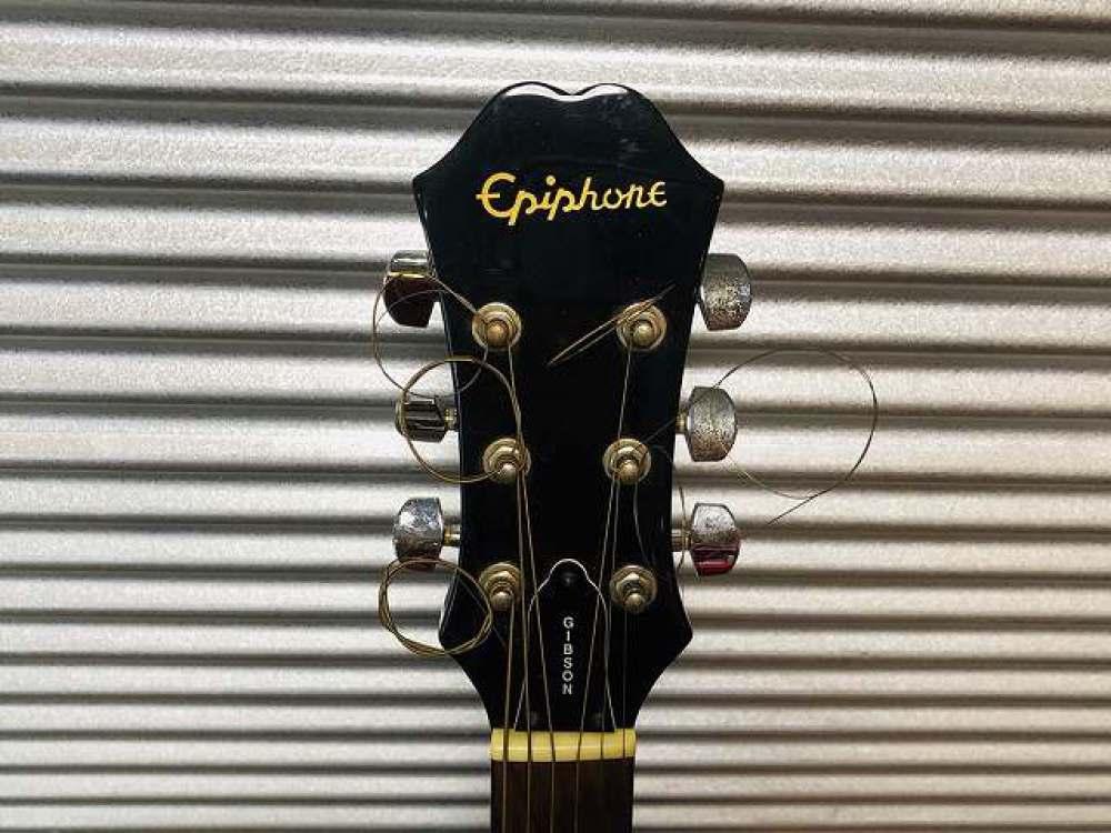 Epiphone アコースティックギター AJ15EB 長野県塩尻市 楽器買取 写真7