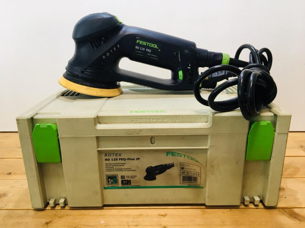 フェスツール サンダー RO 125 FEQ-PLUS | 長野県安曇野市電動工具買取