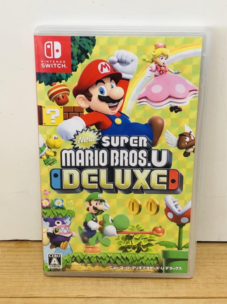 任天堂 switch用ゲームソフト スーパーマリオブラザーズ U デラックス ゲーム買取 | 長野県松本市