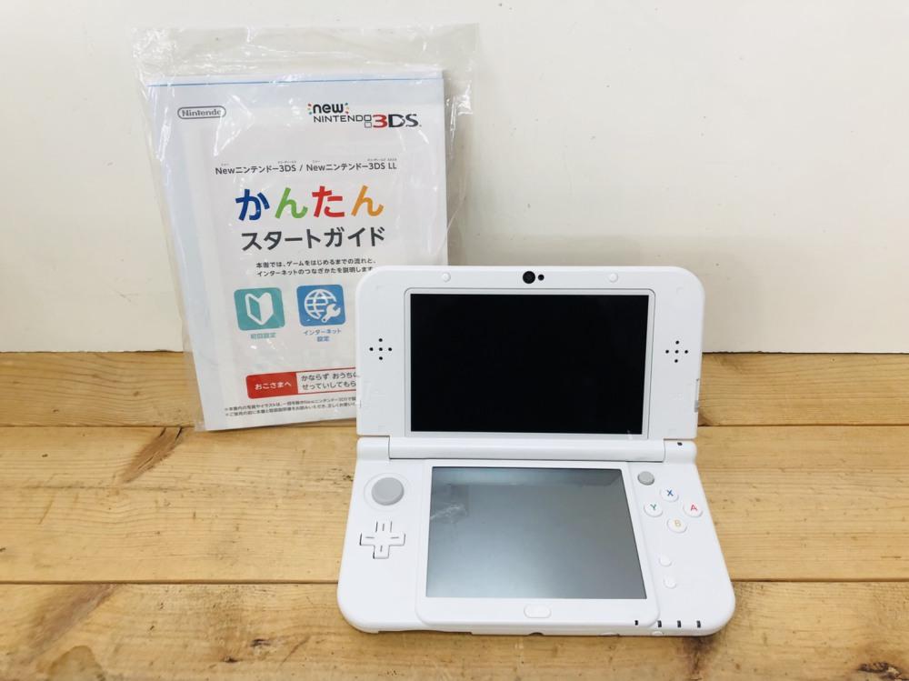 NEW NINTENDO 3DS LL 本体 長野県 松本市 ゲーム買取