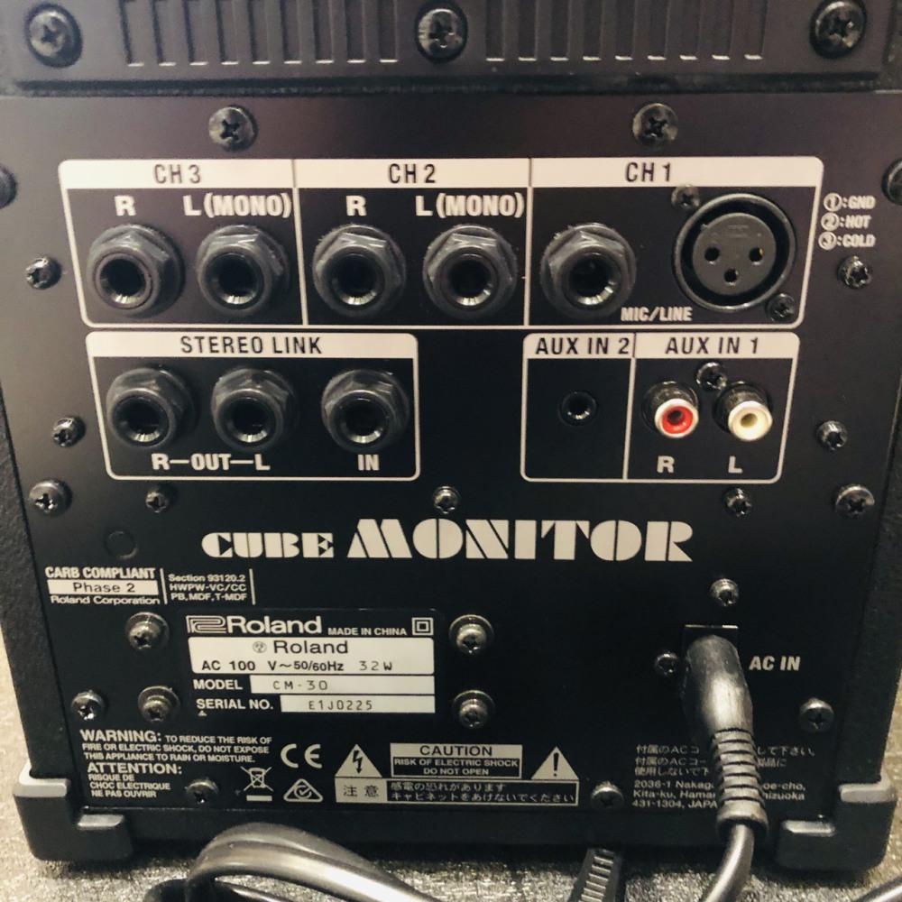 Roiand アンプ CM-30 長野県松本市 楽器・音響機器買取 写真4
