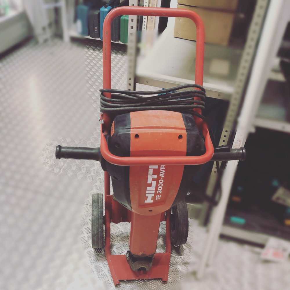 HILTI  電動ハツリ機 TE3000-AVR 長野県松本市 工具買取