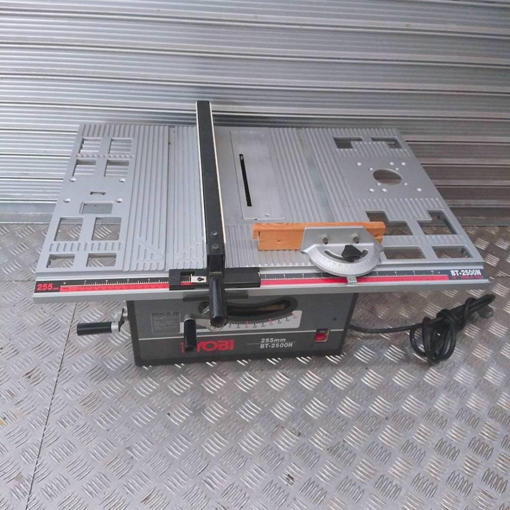 RYOBI リョービ テーブルソー BT-2500N 255mm 切断機 長野県 安曇野市 工具買取