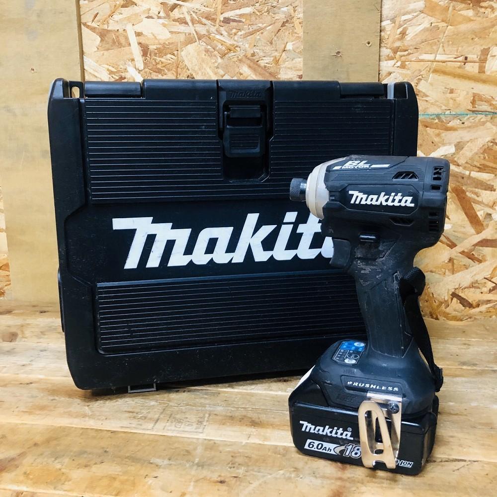 安曇野市 工具買取 | マキタ インパクトドライバ TD171DRGXB ブラック