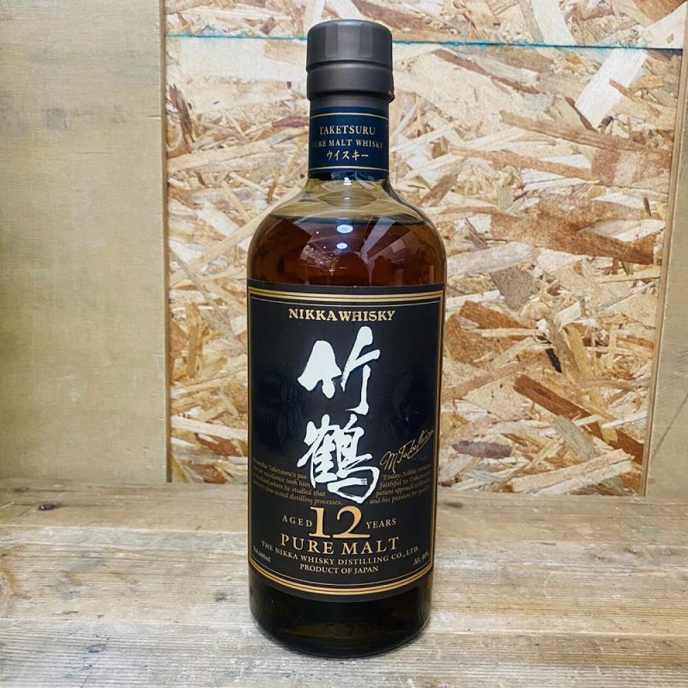 松本市 お酒買取 | ニッカウイスキー 竹鶴12年