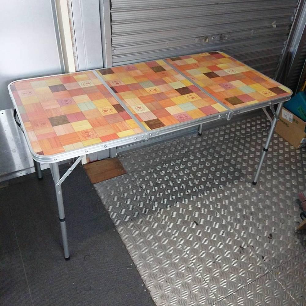 安曇野市 アウトドア用品買取 | Coleman テーブル