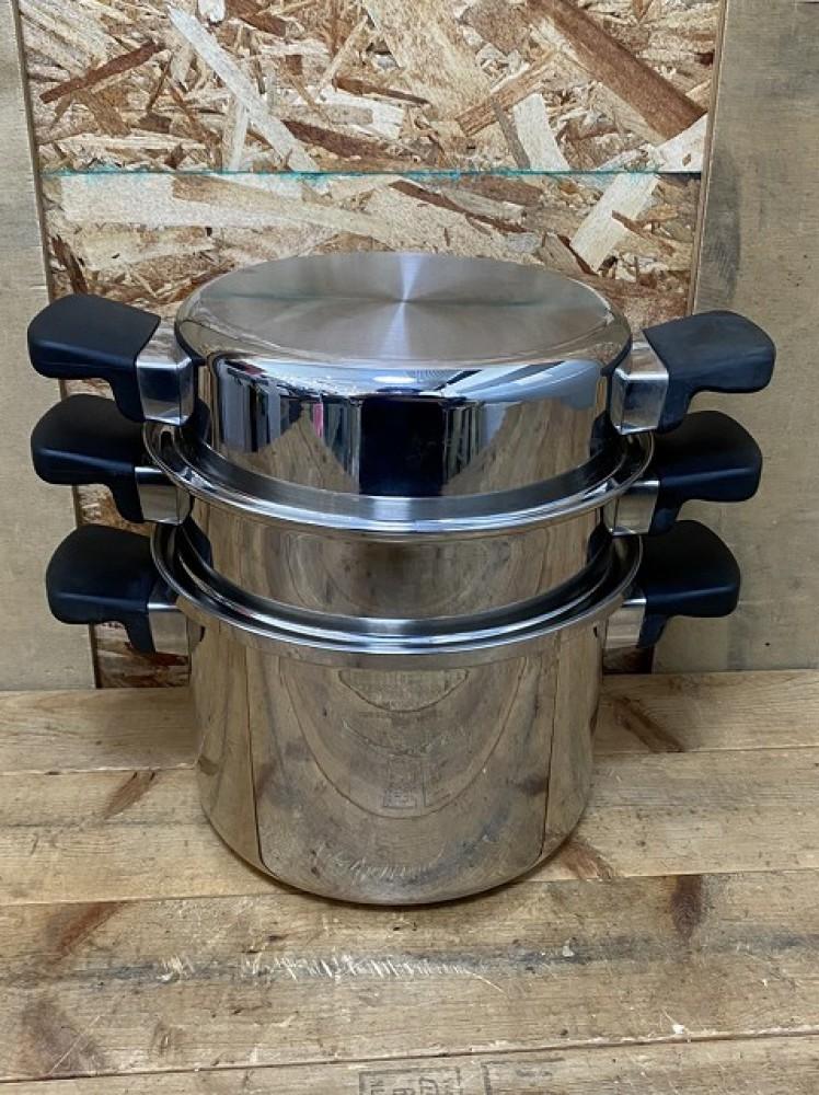 安曇野市 ブランド食器買取 | アムウェイクイーン 鍋セット 写真8