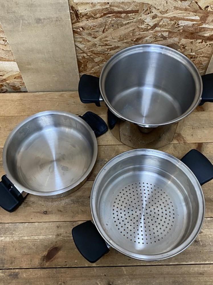 安曇野市 ブランド食器買取 | アムウェイクイーン 鍋セット 写真9