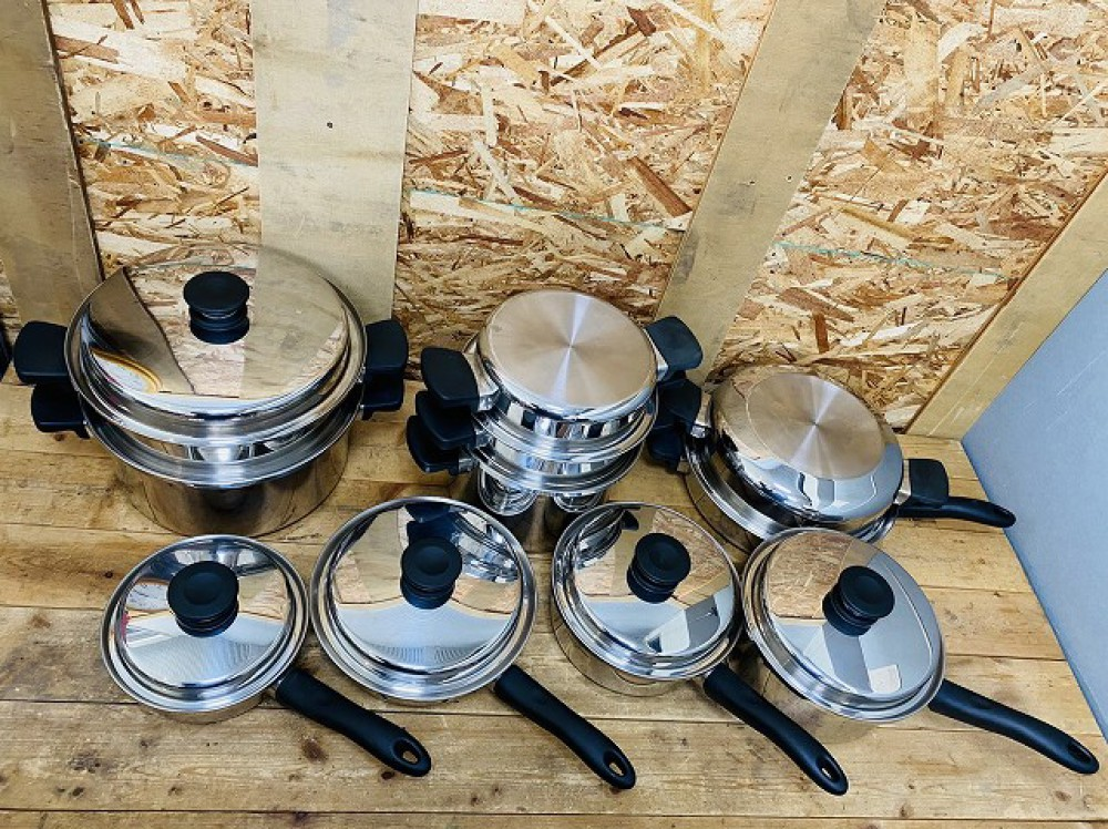 安曇野市 ブランド食器買取 | アムウェイクイーン 鍋セット