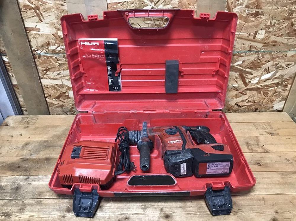 長野市 工具買取 | HILTI 充電式ハンマドリル TE6-A22