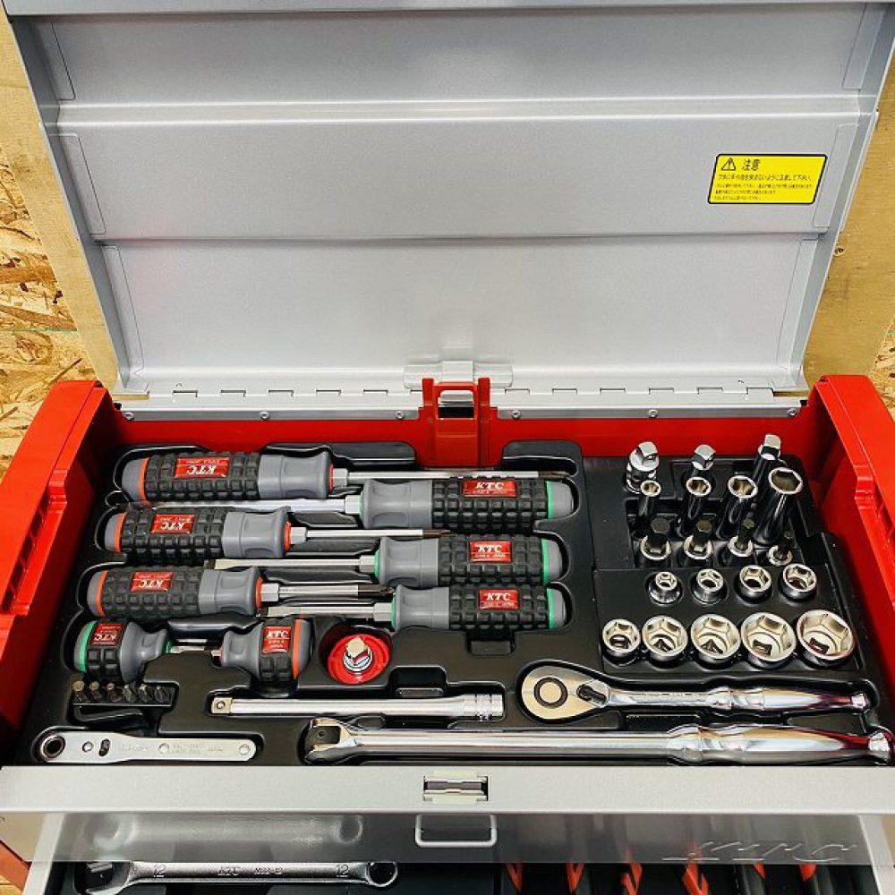 安曇野市 工具買取 | 京都機械工具 KTC 工具セット  SK36617E 写真4