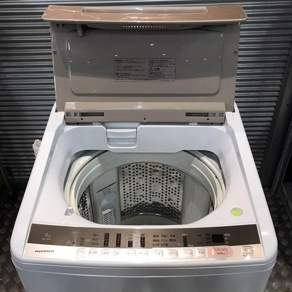 長野市 家電買取   HITACH 洗濯機  BW-V90C 写真6