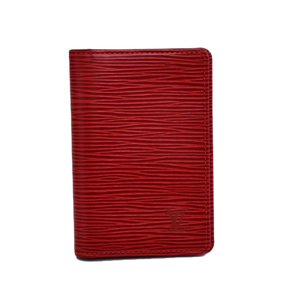 LOUIS VUITTON(ルイヴィトン)  カードケース 赤 | 長野県松本市 ブランド品買取