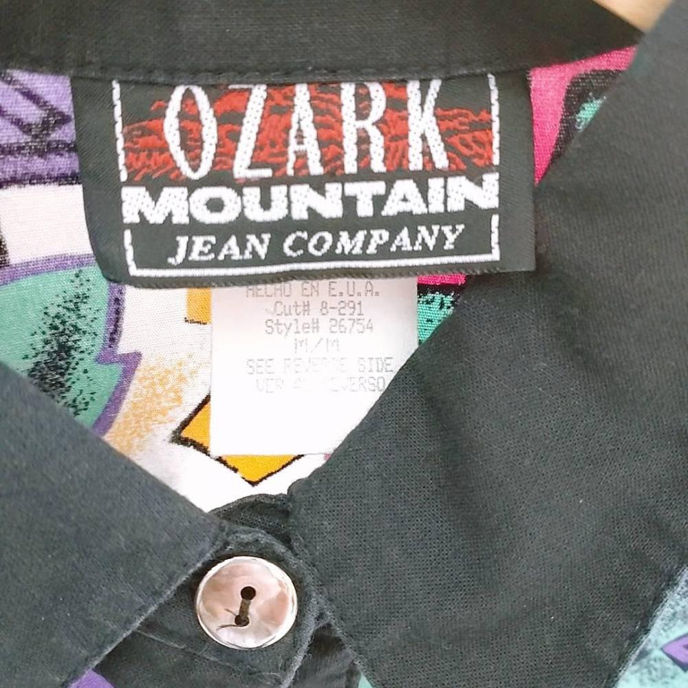 安曇野市 古着買取   OZARK MOUNTAIN シャツ 写真3