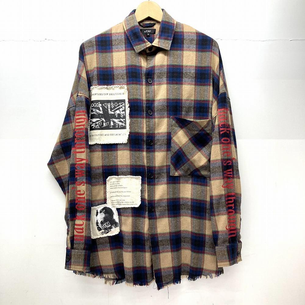 安曇野市 古着買取 | RE730 フリンジ チェックシャツ