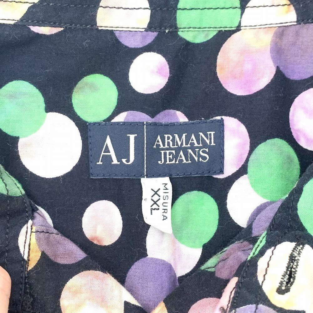 松本市 古着買取 | ARMARNI JEANS 半袖シャツ 写真3