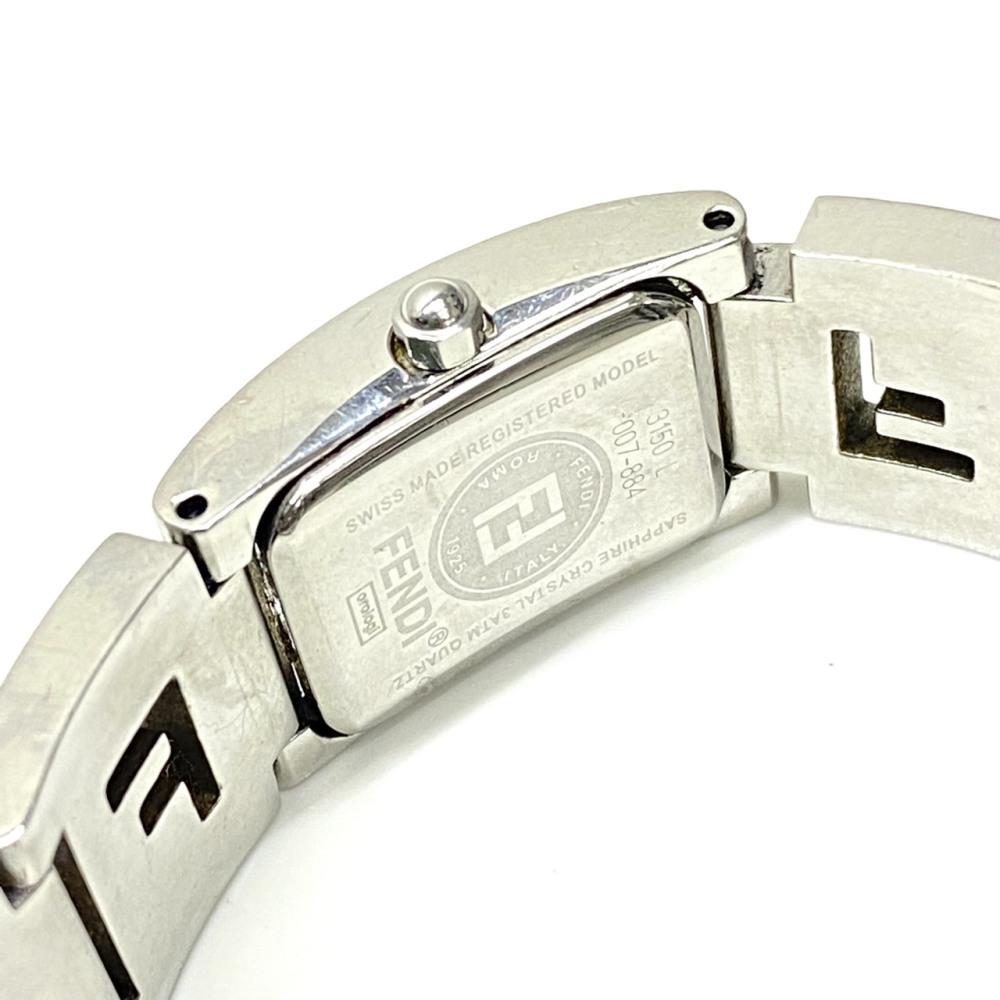 松本市 ブランド買取 | FENDI 腕時計 3150L 写真3