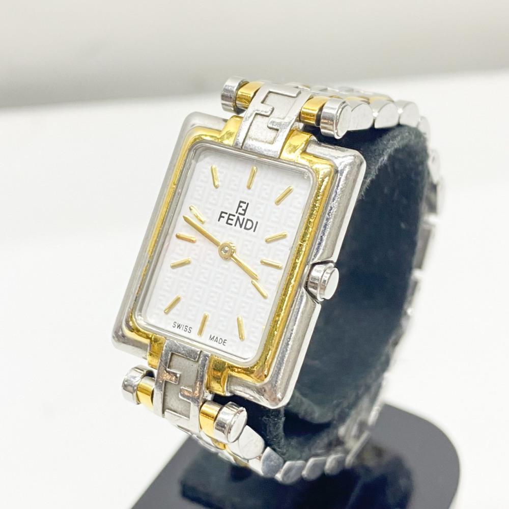 松本市 ブランド買取 | FENDI 腕時計 ズッカ柄 写真1
