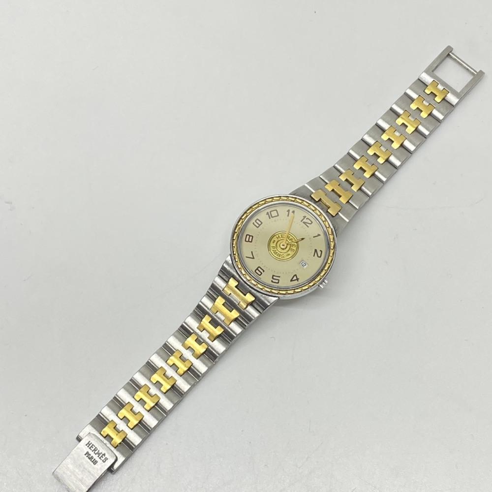 松本市 ブランド買取   HERMES 腕時計 写真7