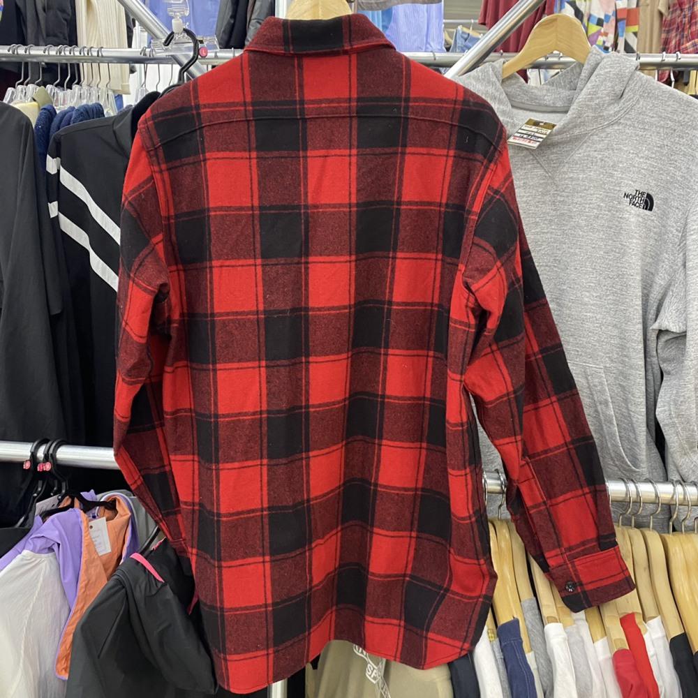 塩尻市 古着買取   WOOLRICH チェックシャツ 写真2