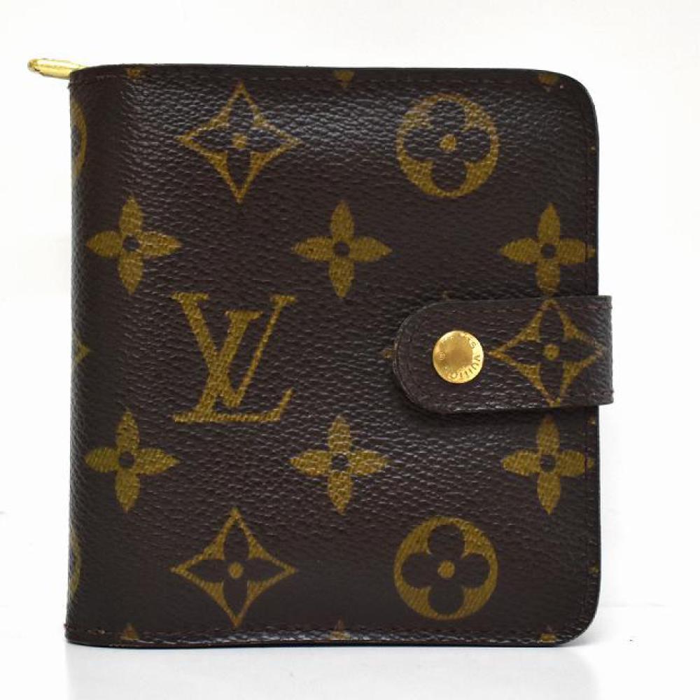 LOUIS VUITTON 二つ折り財布 コンパクトジップ | 長野県松本市ブランド買取