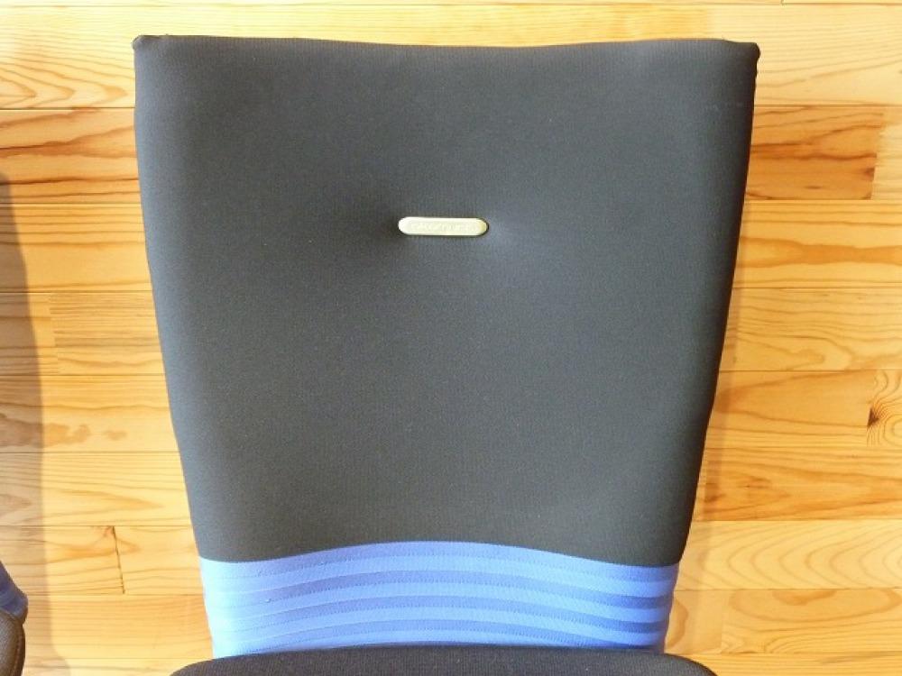 オカムラ オフィスチェア 2脚セット フィーゴ 多機能 事務椅子 ブルー 肘なし 出張買取   長野県長野市 写真6