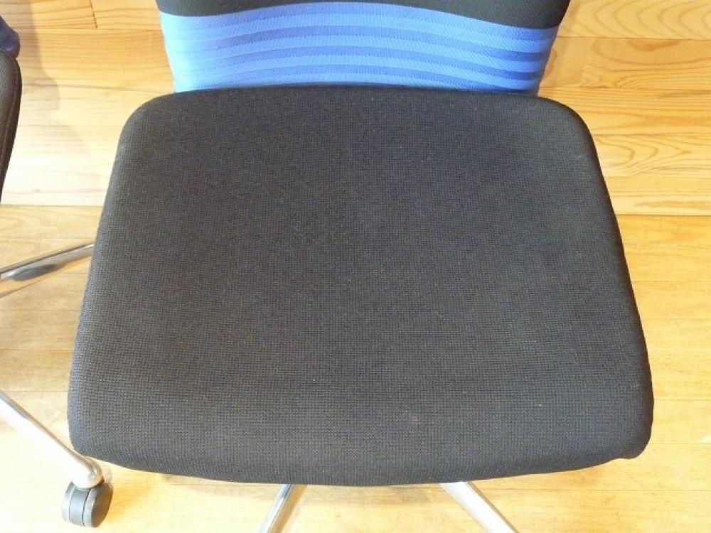 オカムラ オフィスチェア 2脚セット フィーゴ 多機能 事務椅子 ブルー 肘なし 出張買取   長野県長野市 写真7