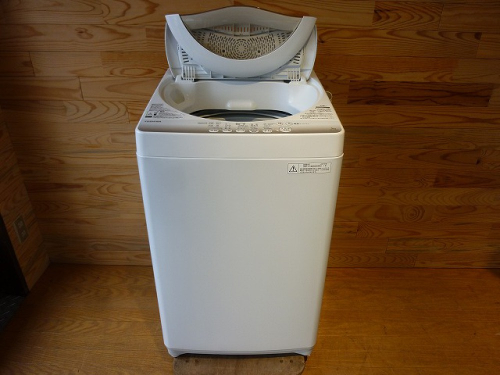 TOSHIBA 東芝 全自動洗濯機 AW-5G2 5.0kg 2015年製 出張買取   長野県松本市