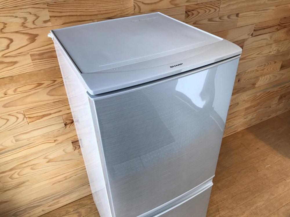 SHARP シャープ SJ-D14B-S 2016年製 冷凍冷蔵庫 出張買取 | 長野県松本市 写真5