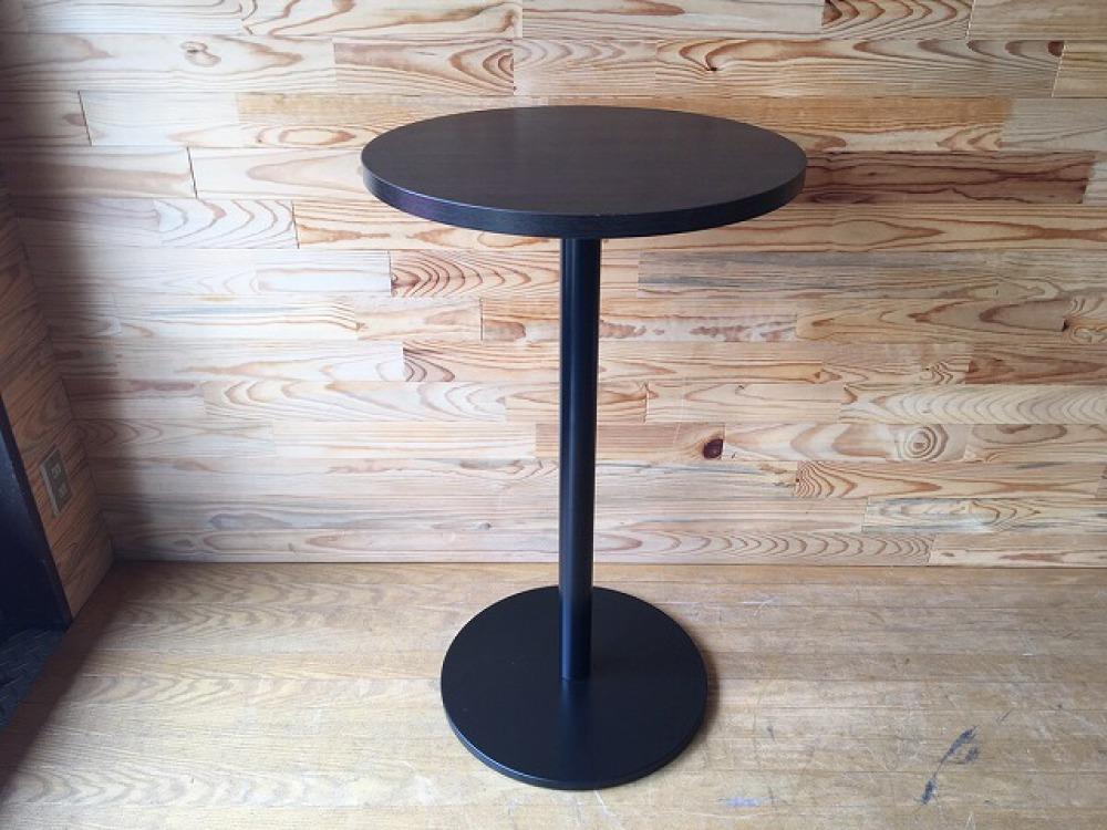 バーテーブル ハイテーブル カウンター 丸形天板 モダン カフェ 立ち飲み 出張買取 | 長野県飯田市 写真1