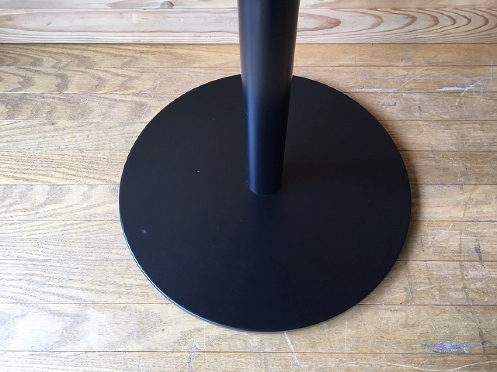 バーテーブル ハイテーブル カウンター 丸形天板 モダン カフェ 立ち飲み 出張買取 | 長野県飯田市 写真8