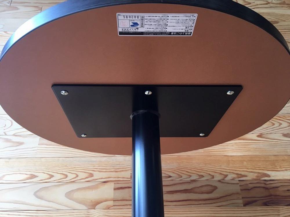 バーテーブル ハイテーブル カウンター 丸形天板 モダン カフェ 立ち飲み 出張買取 | 長野県飯田市 写真7