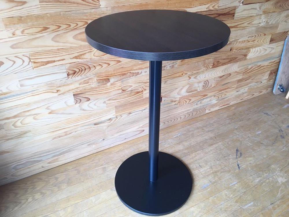 バーテーブル ハイテーブル カウンター 丸形天板 モダン カフェ 立ち飲み 出張買取 | 長野県飯田市 写真5