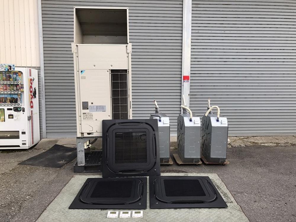 ダイキン パッケージエアコンセット RQYP335P FXYFP90C | 長野県安曇野市出張買取