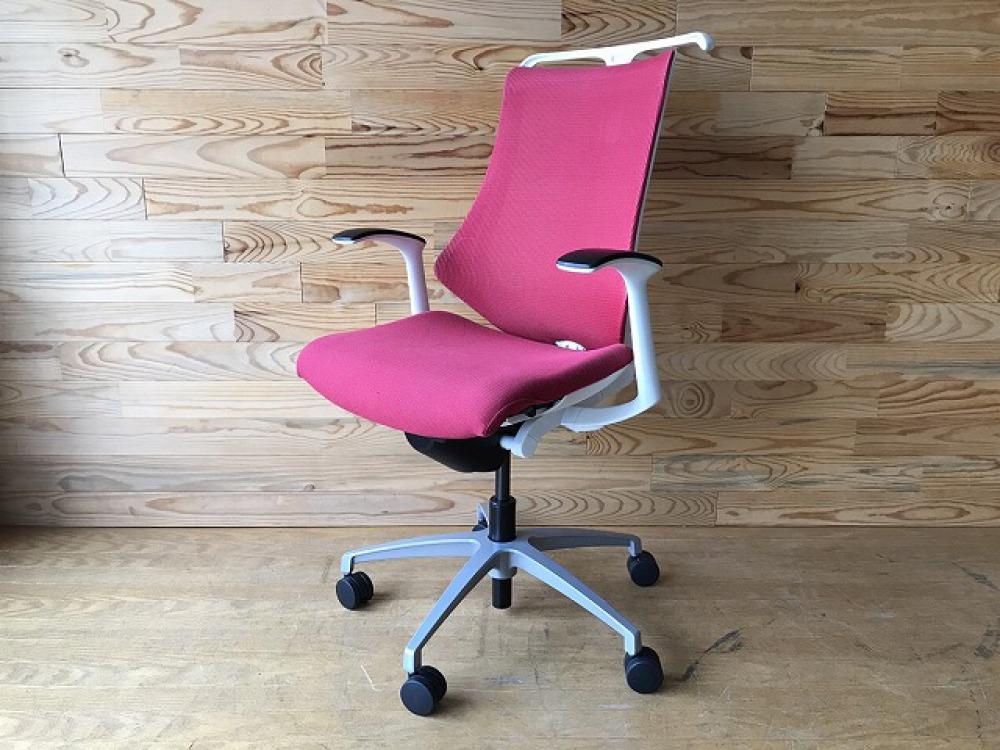 イトーキ エフチェア ハンガー付 高機能 SOF-375JB-ZWM4 オフィス 事務椅子 メッシュ ハイバック 出張買取 | 長野県安曇野市