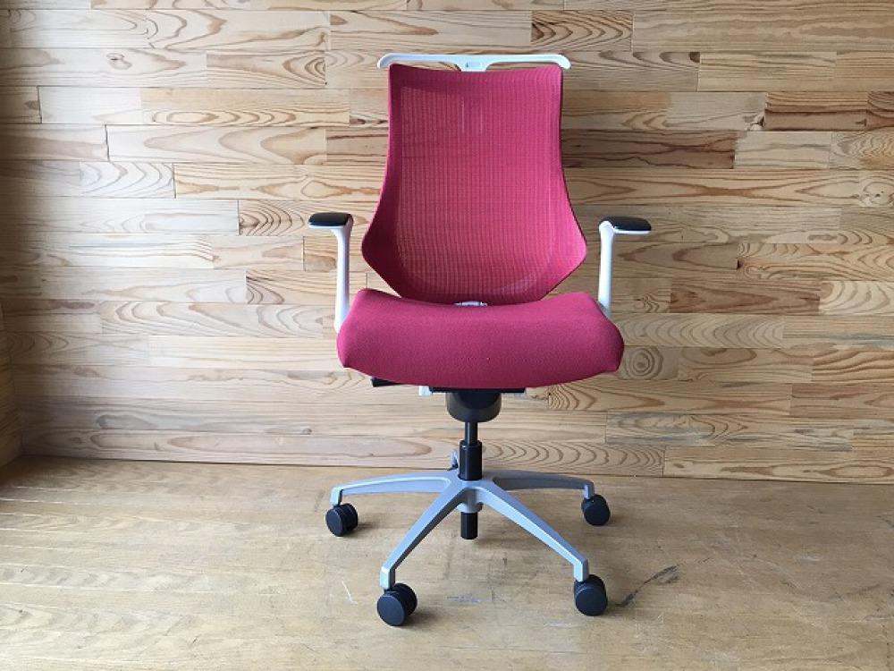 イトーキ エフチェア ハンガー付 高機能 SOF-375JB-ZWM4 オフィス 事務椅子 メッシュ ハイバック 出張買取   長野県安曇野市 写真2
