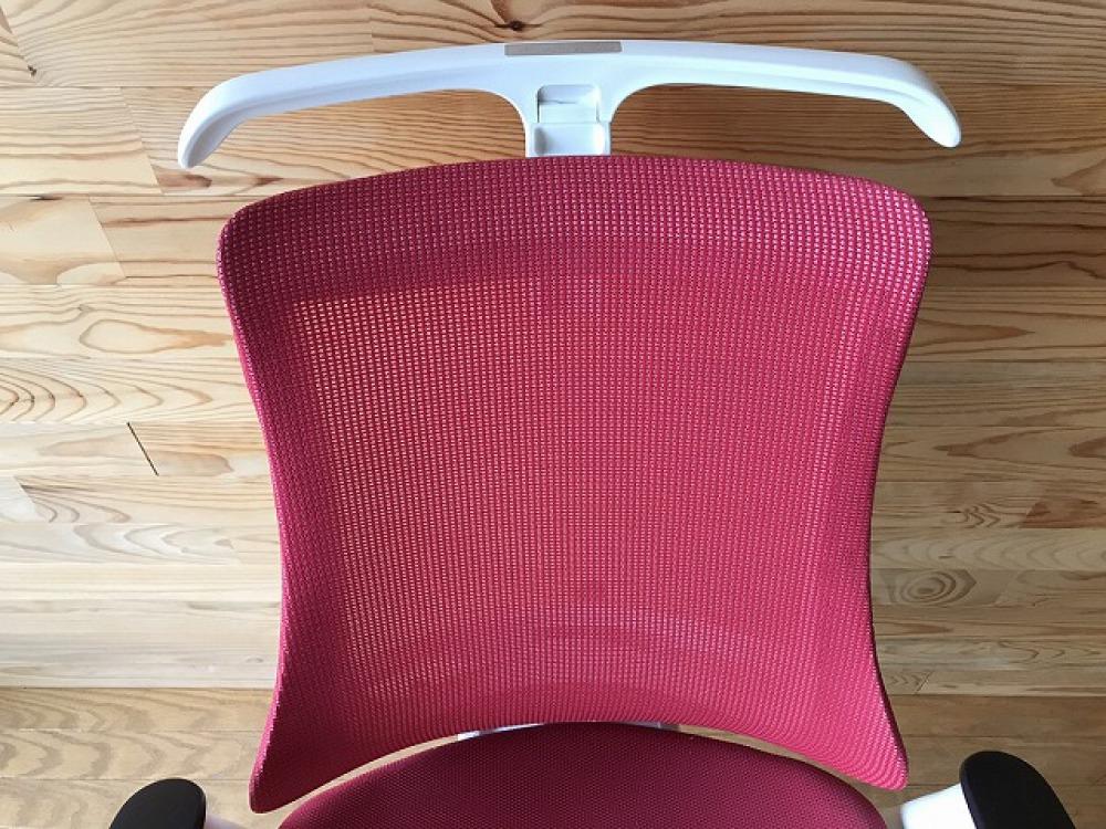 イトーキ エフチェア ハンガー付 高機能 SOF-375JB-ZWM4 オフィス 事務椅子 メッシュ ハイバック 出張買取   長野県安曇野市 写真4