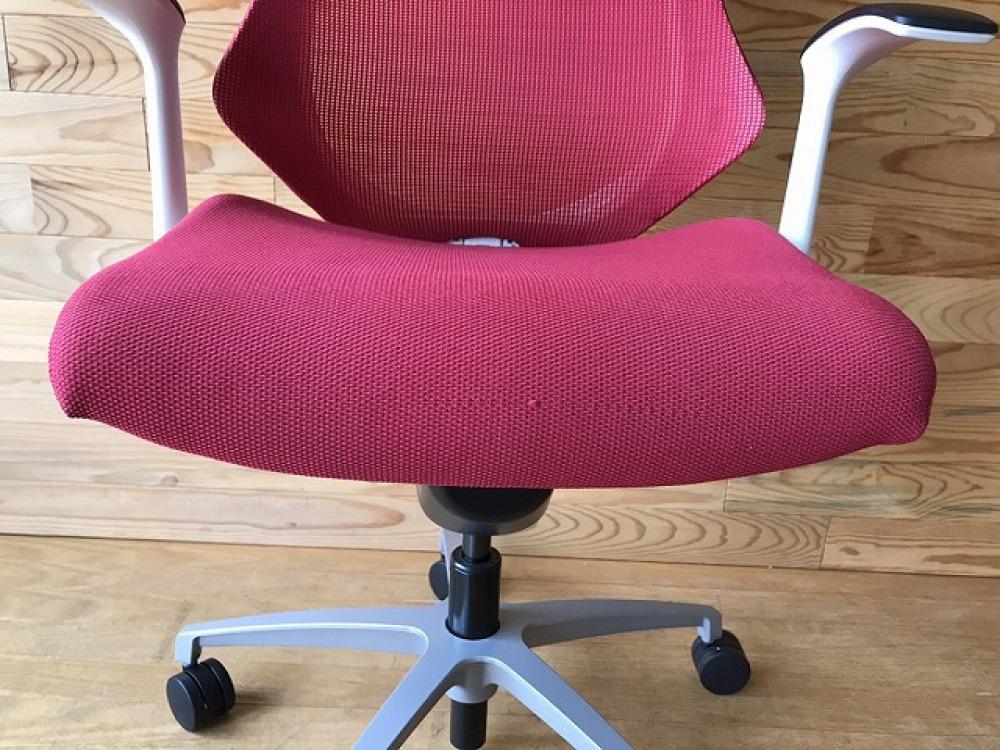 イトーキ エフチェア ハンガー付 高機能 SOF-375JB-ZWM4 オフィス 事務椅子 メッシュ ハイバック 出張買取   長野県安曇野市 写真10