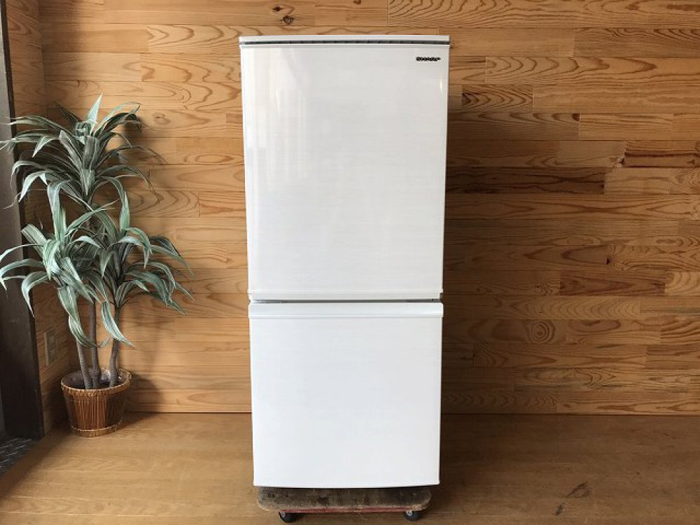 SHARP シャープ 冷凍冷蔵庫 2019年製 SJ-D14E-W 137L つけかえどっちもドア 出張買取   長野県松本市