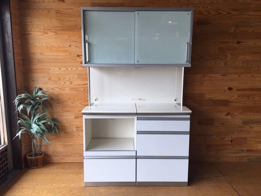 綾野製作所 レンジボード キッチンボード 食器棚 ソフトクローズ 収納家具 出張買取 | 長野県佐久市