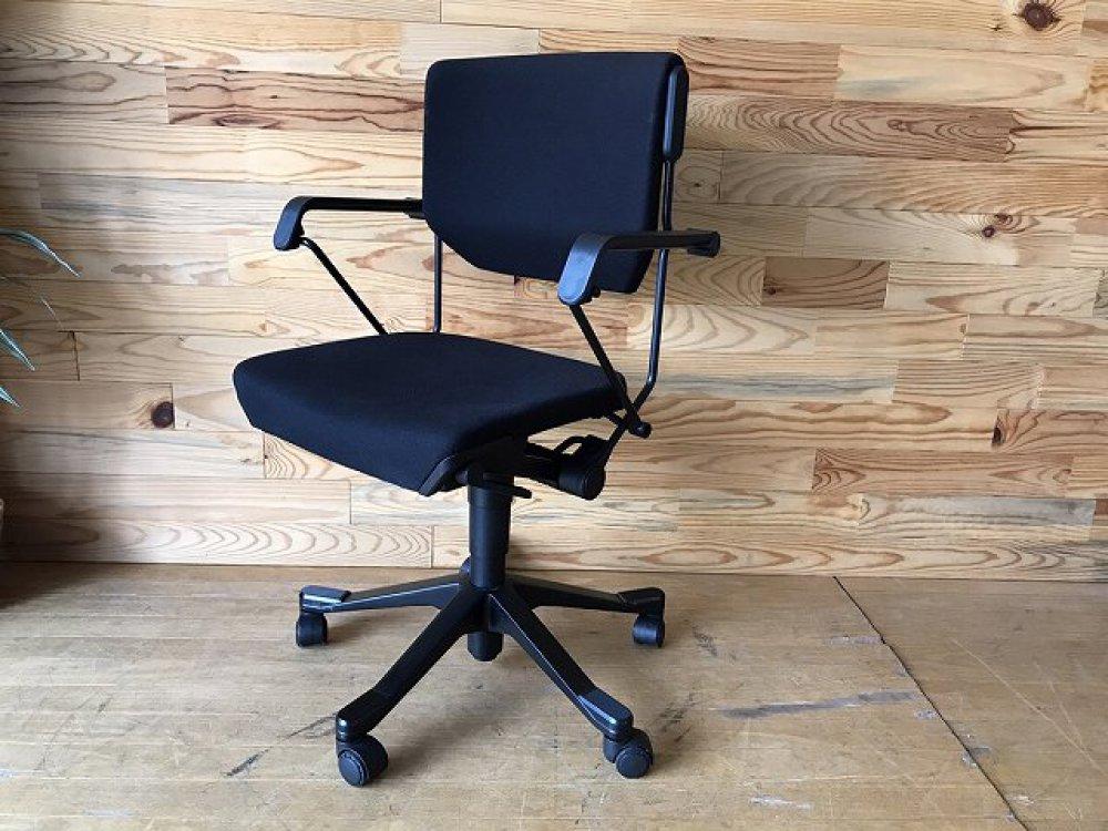 ジロフレックス giroflex 33 オフィスチェア 肘付 ブラック 事務椅子 出張買取 | 長野県諏訪市